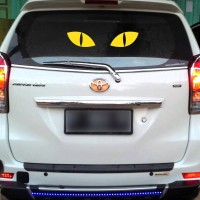 Sticker Decal Mata Kucing