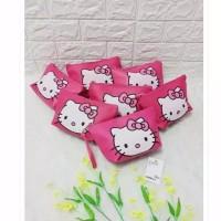 Pouch Kosmetik HK Sablon Print/ Tas Kosmetik Hello Kitty/ Beauty Cash