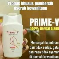Obat Pembersih Kewanitaan Prime V Prime-V ORIGINAL HWI/ Obat Keputihan