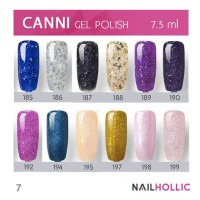 CANNI gel nail polish / kutek gel / kutek jel (part 2)
