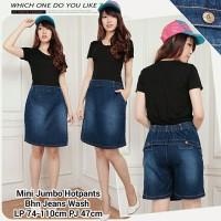 PROMO SB Collection Celana Pendek Disa Jeans Hotpants Jumbo Rok Wanit