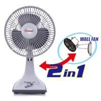 Harga best item cosmos 7 kdu twino kipas angin fan 2in1 7 inch desk wall | Pembandingharga.com