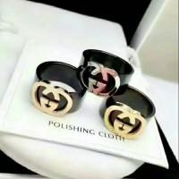 Cincin Gucci ceramic Ck65 kualitas premium