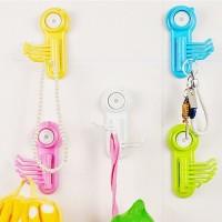 Jual StarHome Hook Gantungan Dapur Kamar Mandi Serbaguna 6 Tiang Mini - Murah