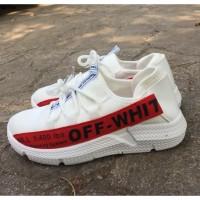 Sepatu casual wanita sneakers CM11 Running - Putih, 40