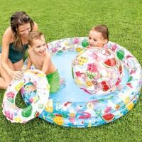 Kolam Baby Fun Swimming Pool 3 in 1 Party - INTEX 59460
