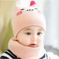 Topi Rajut Musim Dingin untuk Bayi Anak Laki laki Perempuan