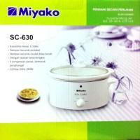 MIYAKO SC-630 Slow Cooker 6.3 Liter / Pemasak Lambat SC630