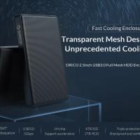 ORICO HDD Enclosure 2.5inch USB3.0 Full Mesh - 2169U3