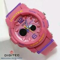 Jam tangan Wanita dan anak Digitec 2073T pink Fanta original water