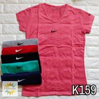 T159 - Kaos Sport Tee   T-Shirt Wanita   Cewek Nike LT 68472abf80