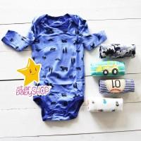 Baju Bayi Anak Jumper Lengan Panjang 5in1 Cowok