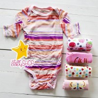 Baju Bayi Anak Jumper Lengan Panjang 5in1 Cewek