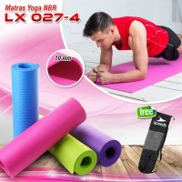 matras yoga SPEEDS NBR 10mm Yoga Matt Senam tebal lx 027-4 original