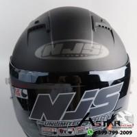 Harga helm bandung njs shadow polos hitam doff agen helm njs | Pembandingharga.com