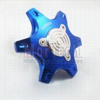 Cover jalu Tutup As Roda Belakang Motor Matic CNC Xeon GT RC- Fino 125