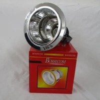 Downlight 5 inch Silver BOSSECOM/Fiting Fitting Lampu Tanam 5