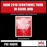 iKON 2018 CONTINUE TOUR IN SEOUL DVD
