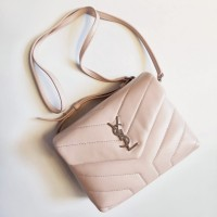 0aceeacdc4 TAS YVES SAINT LAURENT ORIGINAL - YSL LOULOU TOY BAG POWDER c