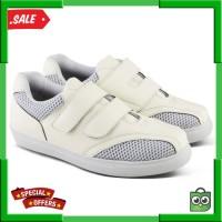 Varka 189 Sepatu Casual Sneakers Flat Wanita Olahraga Putih
