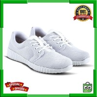 Varka V 384 Sepatu Casual Sneakers Flat Wanita Putih