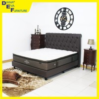 Kasur Enchanted 120x200 - Dreamline Spring Bed (Full Set)