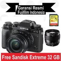 Harga fujifilm x t2 kit 18 55 mm xt2 with xf 23 mm f1 4 big | Pembandingharga.com