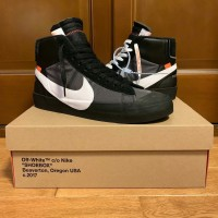 Sepatu Nike Blazer Mid Grim Reaper x Off White