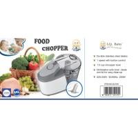 SET PERALATAN MAKAN BAYI IQ BABY FOOD CHOPPER BLENDER F