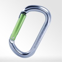 Kailas Oval Straight Gate Carabiner - KE240001 GY116 - Green