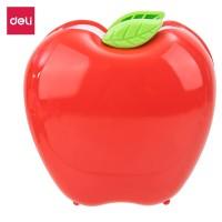 Deli E9139 Tempat Pulpen-PS Apple Pen Stand Red Green