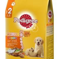 Pedigree Dry Puppy 1.5kg Makanan Anjing Kering rasa Chicken & Egg