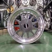 Velg Mobil HSR Tipe IKIMASU Ring 16 Cocok Untuk Honda Brio RS Jazz RS