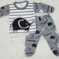 Harga baju tidur piyama anak bayi setelan kaos anak bayi | antitipu.com