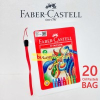 Oil Pastel Hexagonal/Crayon 24 Faber Castell