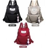 Tas Ransel Wanita Korea Import/ Tas Backpack/ Tas Sekolah - 11317