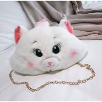 tas imut anak wanita selempang fashion kucing pergi mall travel 11315