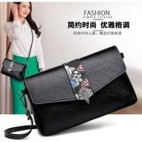 Tas Wanita Tas Import Fashion Clutch Slempang Murah 11354 Cewek