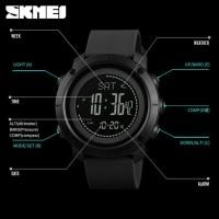 Harga skmei jam tangan digital sporty pria pedometer calorie compass | Pembandingharga.com