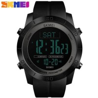 Harga skmei jam tangan kompas pedometer digital pria 1354 | Pembandingharga.com