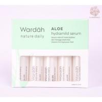 Dijual Wardah Nature Daily Aloe Hydramild Serum 5x5ml (Hijau) Diskon