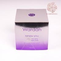 BPOM Wardah Renew You Anti Aging Night Cream 30 mL (BIG) Diskon