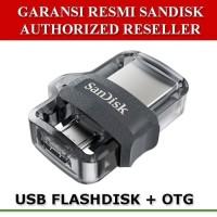 Sandisk Flashdisk Ultra Dual 16GB 2 in 1 Super Speed USB 3 0 USB OTG