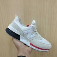 Sepatu pria gaul Sneakers New Balance 574 White