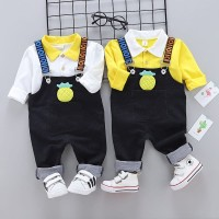 Baju Setelan Overal Anak Laki laki   Set Jumpsuit Anak Import