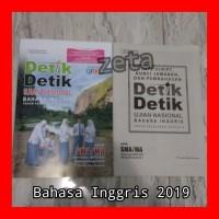 Buku Detik Detik UN Bahasa Inggris SMA IPA/IPS 2019 Intan Pariwara