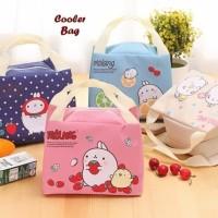 Lunch Cooler Bag Box Tas Tempat Bekal Makan Makanan Anak Kids Molang