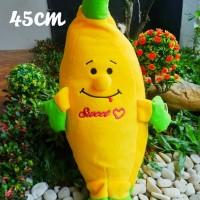 Boneka Bantal Banan Lucu