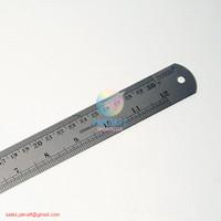 Penggaris Panjang Besi Joyko Stainless Steel Ruler 30cm Kokoh Murah