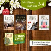 PAKET BUKU PIANO ROHANI VOL.1 - VOL.4